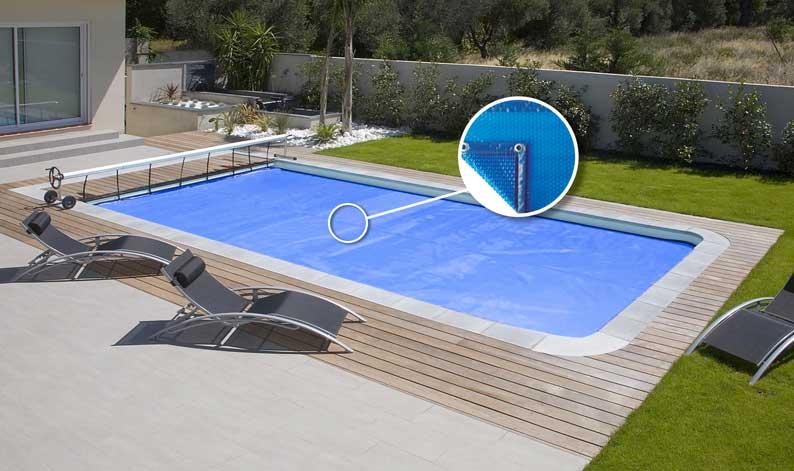 Bâche solaire standard piscine - Mediester